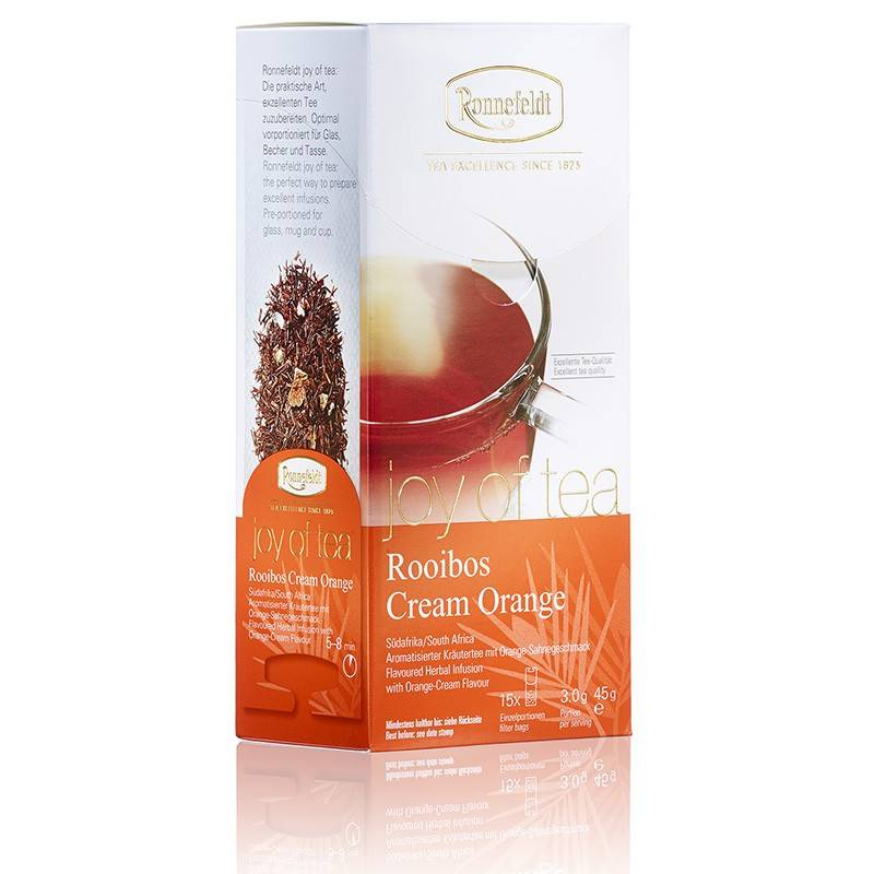 Joy of Tea Rooib. Cream Orange